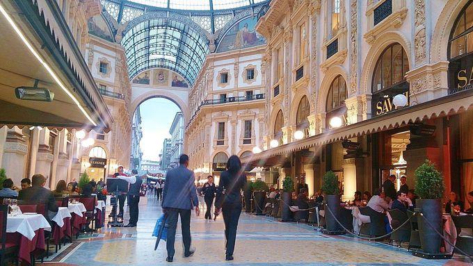 9時頃:世界最大級のゴシック建築「ドゥオーモ」と「ガレリア」は必見!