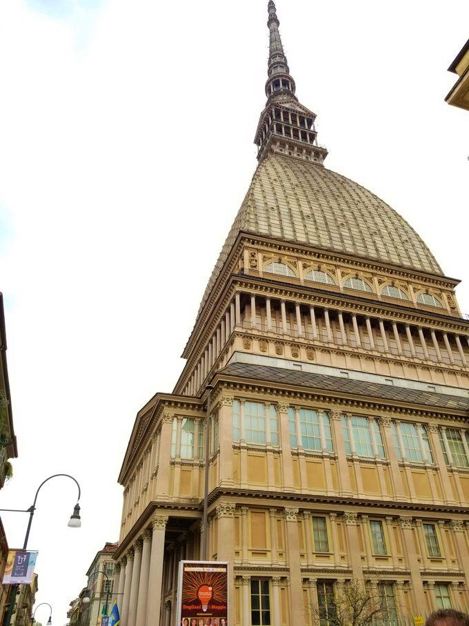 トリノのシンボル「モーレ・アントネッリアーナ」