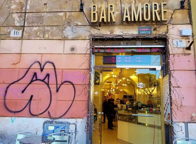 90年以上続く老舗「バール・アモーレ」由来は意外にも?