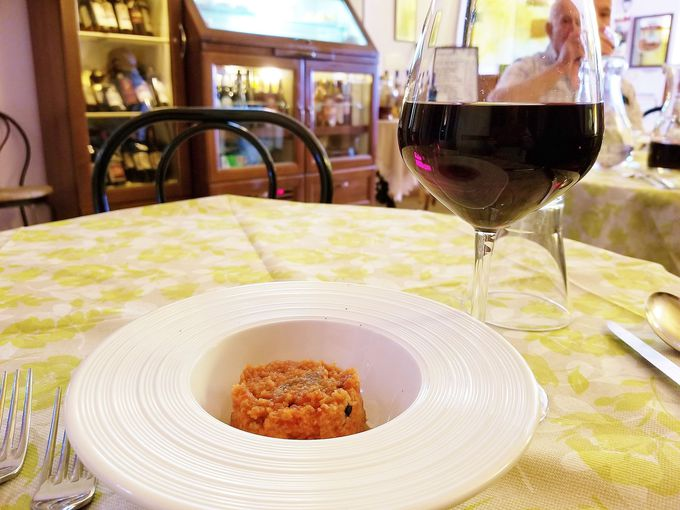 マレンマグルメは名物料理「イノシシ」のパッパルデッレ