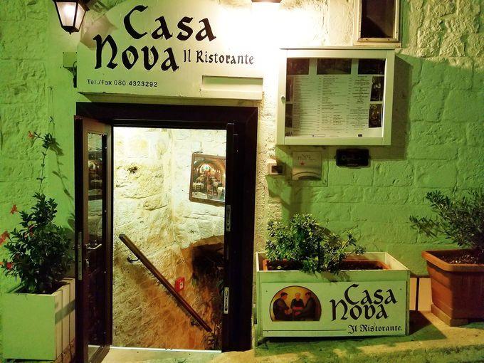 予約必須なレストラン「CASA NOVA」食のプーリアを堪能