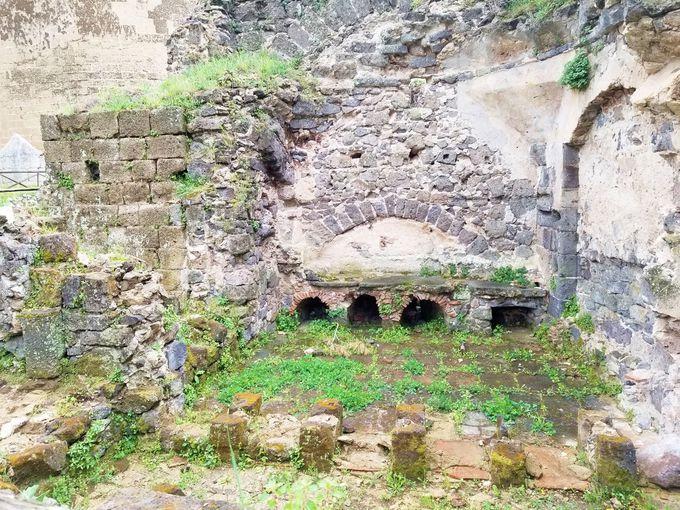 かつてのシンボル、ロンゴバルド古城跡地へ