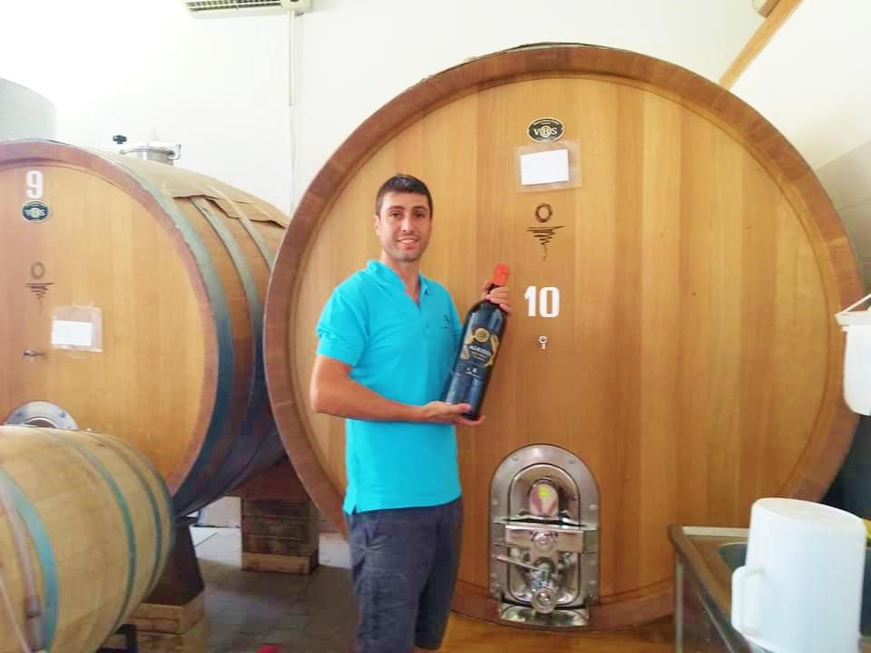 ワイナリー「アルバマリナ」ワイン醸造見学