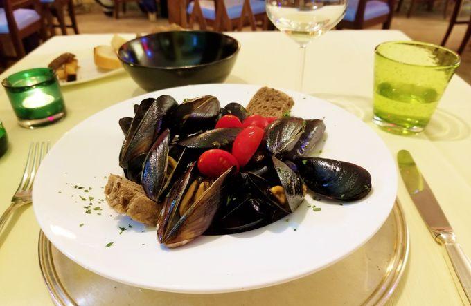 ヴェネツィア料理は「ラ・コロンビーナ」で!