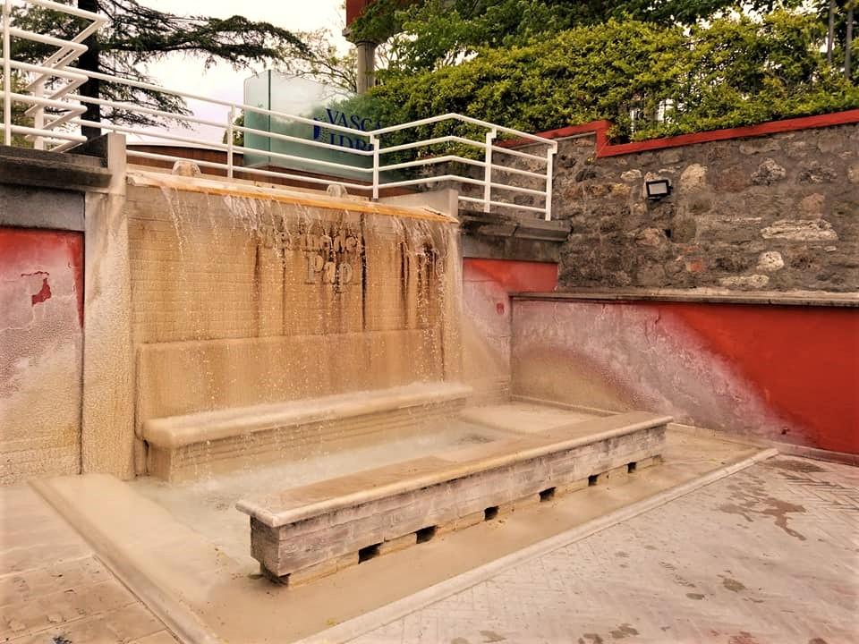 ローマ法王達も療養していた温泉地