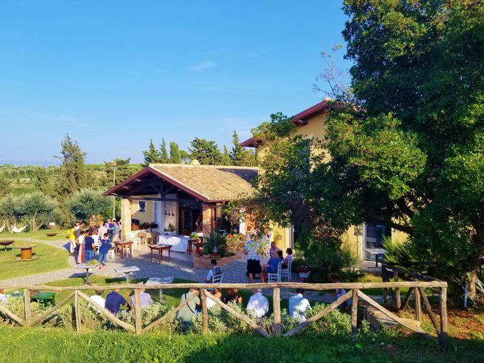 ハーブ畑のカントリーハウス「エルバ・レジーナ」