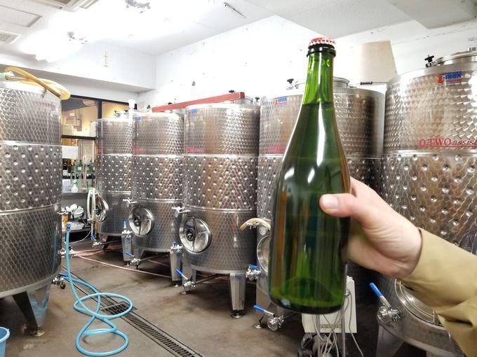 もっと身近にワインを!見学可能な醸造場