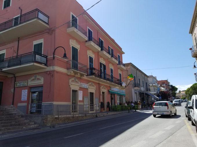 イタリア中部の港町サン・ヴィート・キエティーノ
