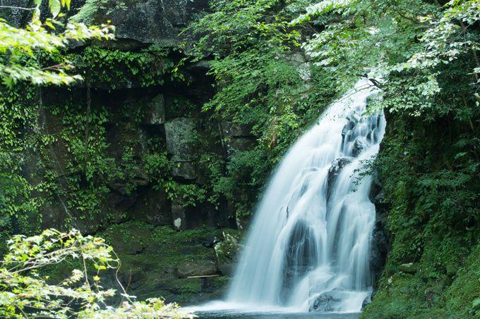 滝つぼに消えた姫の悲劇「千手滝」