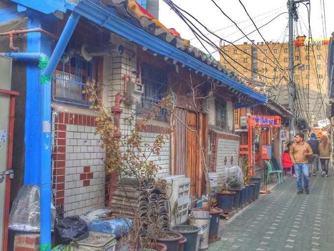 ソウルで話題のスポット・益善洞韓屋村