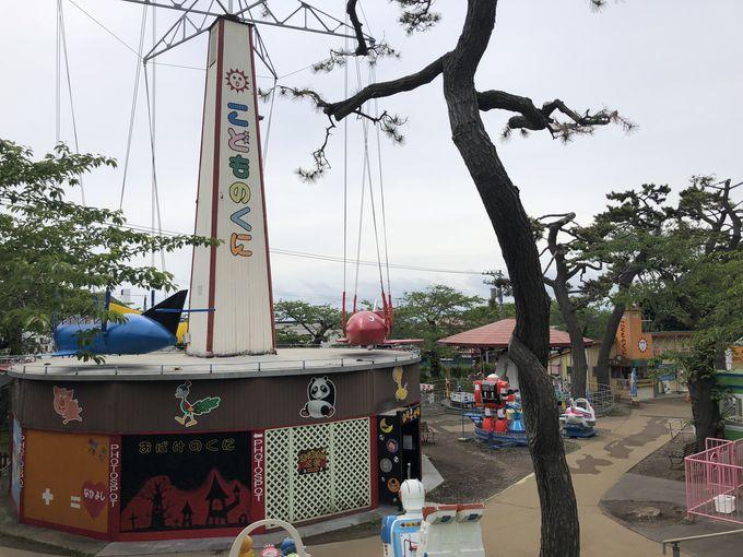 昭和31年創業のレトロな遊園地