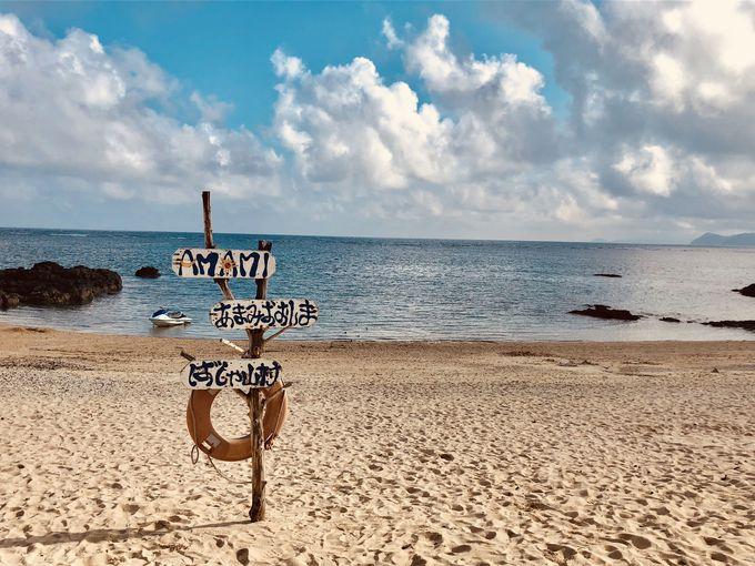 2日目:奄美の海で遊ぼう!子連れで行くなら「用安海岸」
