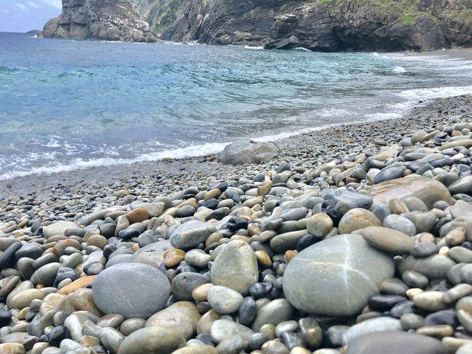 3日目午前:珍しい玉石の海岸「ホノホシ海岸」へ