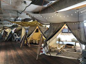 屋内でキャンプ体験!?東京「オガワグランドロッジカフェ」