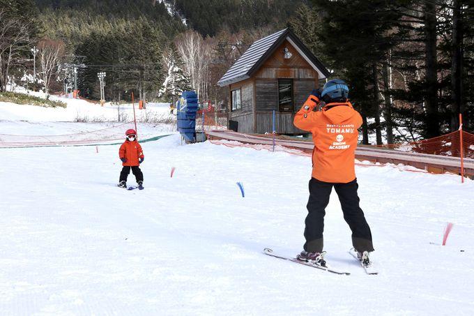 星野リゾート式スキーレッスン「雪ッズ70」