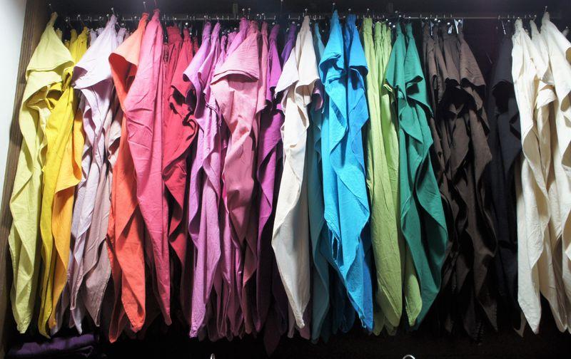 ヂェン先生の日常着を求めて!台北郊外「惠中布衣文創工作室」