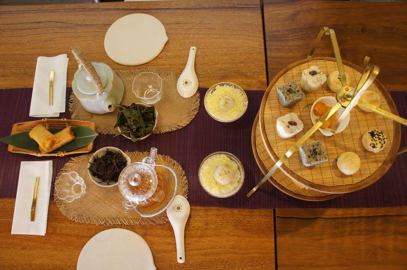 台北「合興八十八亭」の可愛い中華菓子&台湾茶でほっこりティータイム