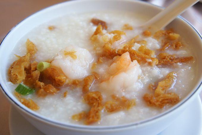 3.胃もたれした朝は「吉星港式飲茶」で廣東式粥を