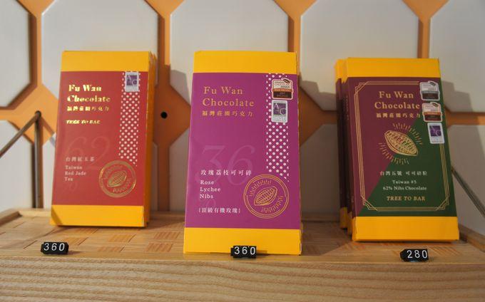 台湾銘店菓子と台湾茶が揃う「一階食品編」