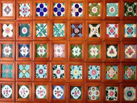 台湾に残る和製マジョリカタイルの世界!嘉義「台湾花磚博物館」