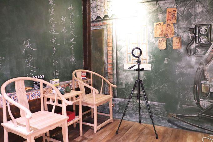 店内の撮影環境