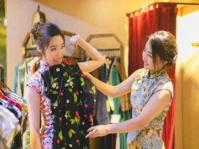 台北「念念留影館」可愛いチャイナドレスで気軽に変身写真!