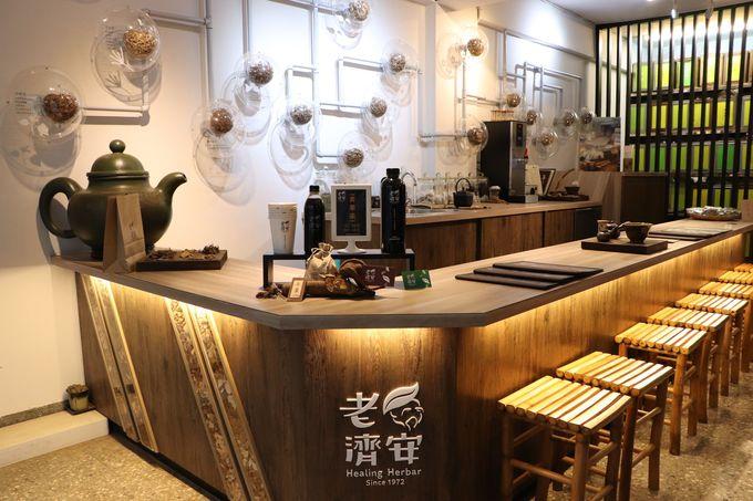 新感覚のハーバルカフェ!西門町の老舗「老濟安」
