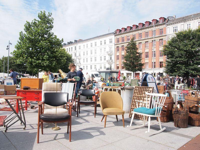 北欧アンティークハントを満喫できるコペンハーゲンの蚤の市3選
