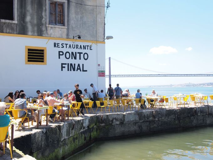 リスボンからはCais do Sodre駅が起点!