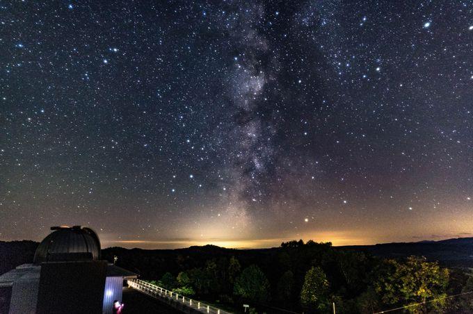 プラネタリウム併設で宇宙の体験学習もできる!