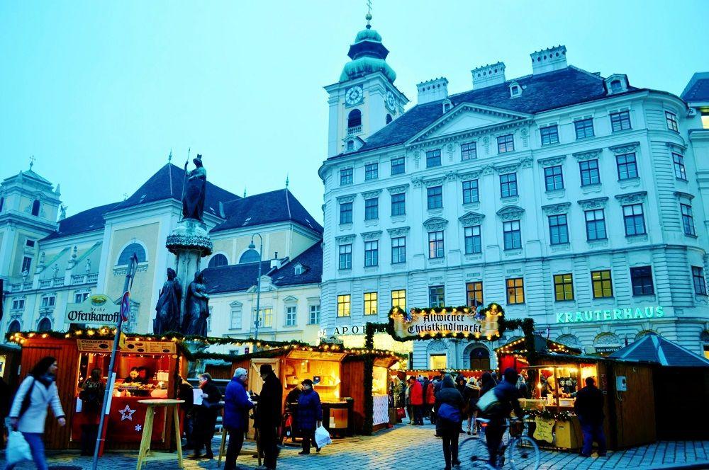 地元の人にも人気Spittelberg、世界遺産の旧市街内Freyungとシュテファン広場