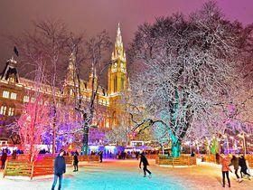 冬のウィーン観光でお勧め!地元の人にも人気のスケートリンク