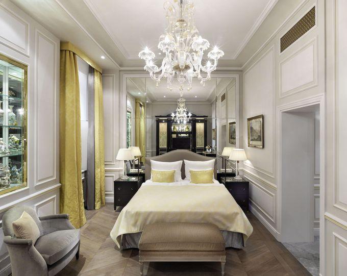 伝統を大事にしながら最新設備を備える「ホテルザッハーウィーン」の客室