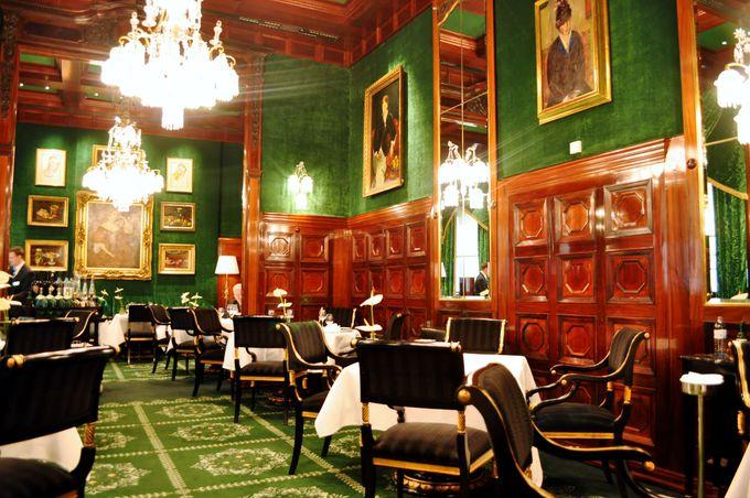 ザッハーホテル内のレストラン・カフェ・バー