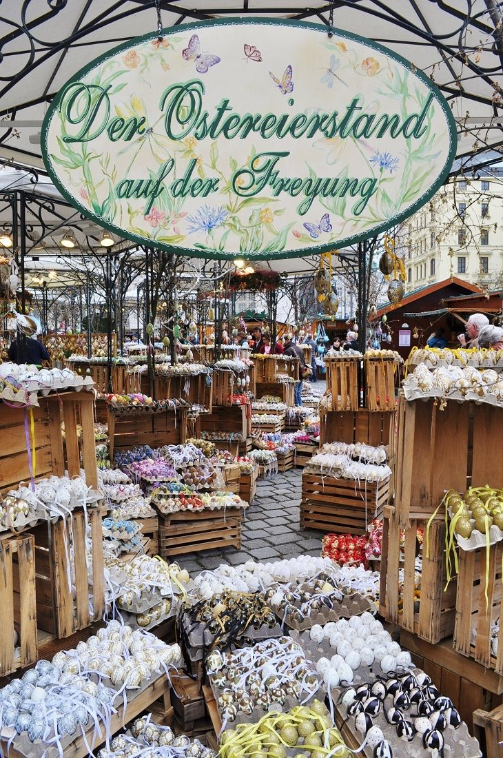 世界遺産、ウィーン旧市街地でのイースターマーケット〜Freyung〜