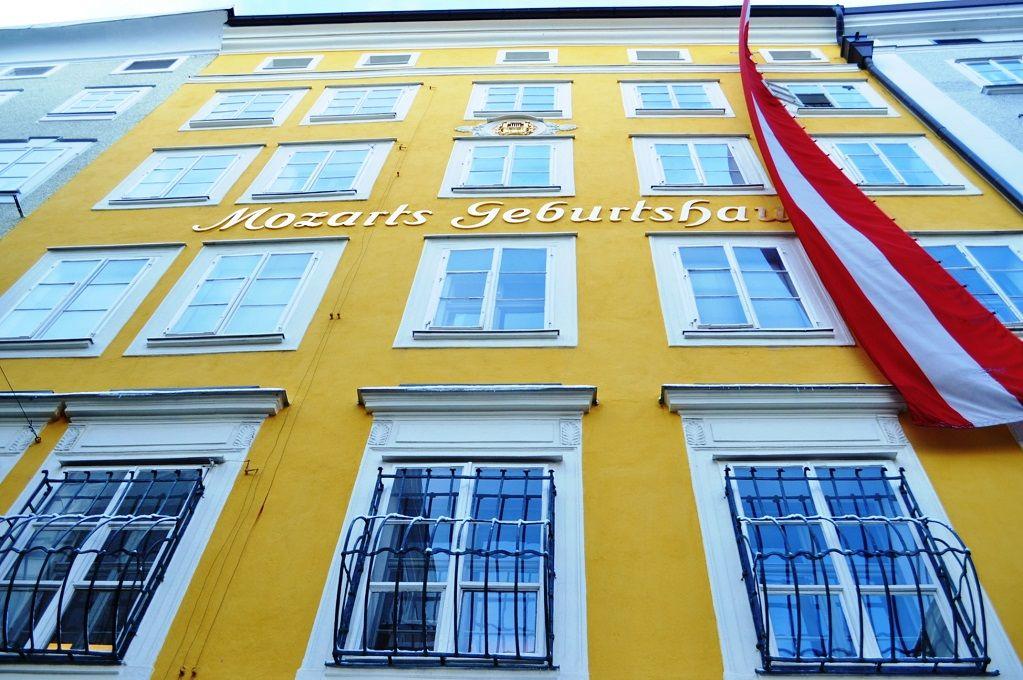 1.モーツァルトの生家/ザルツブルク