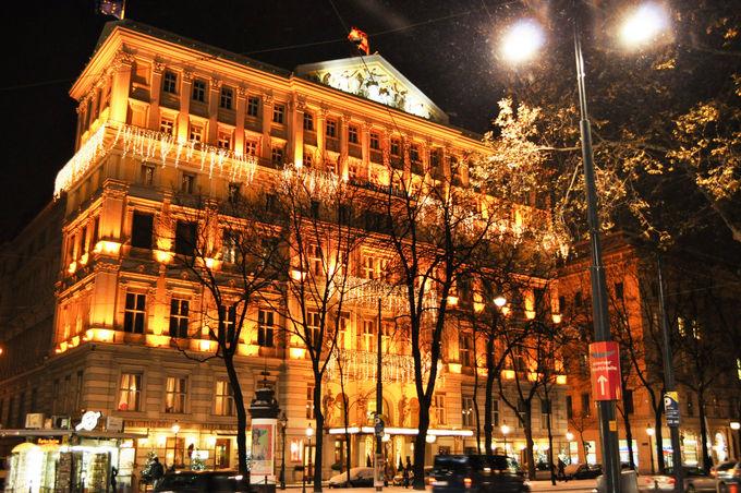 ウィーンでも随一の王道ラグジュアリーホテル