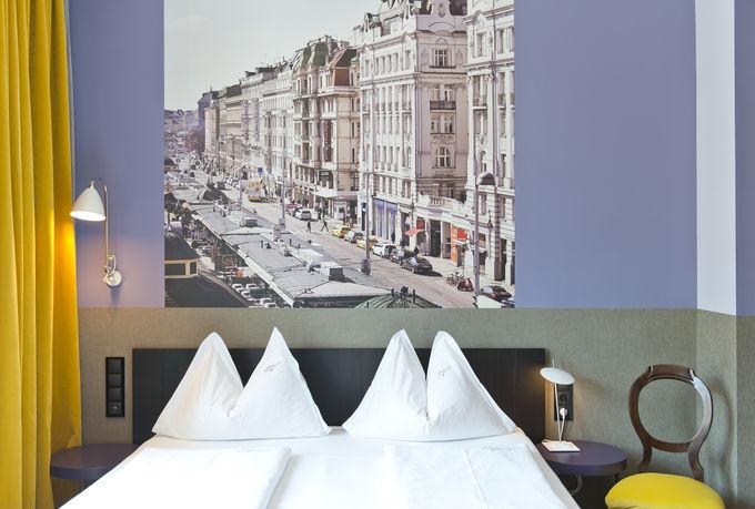 観光にも便利なロケーションにあるデザインホテル