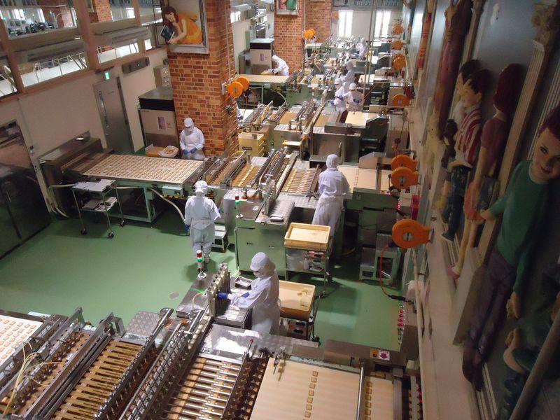 予約なしで見学できる!北海道の有名スイーツ工場「白い恋人パーク」