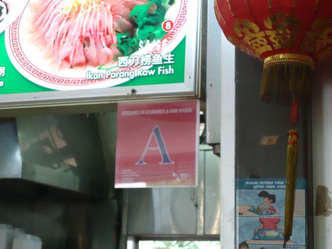 どこのお店で食べる?アルファベットにも注目。