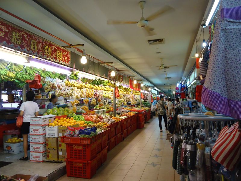 普段着のシンガポール、マーケット&ホーカーセンターへ行ってみよう!