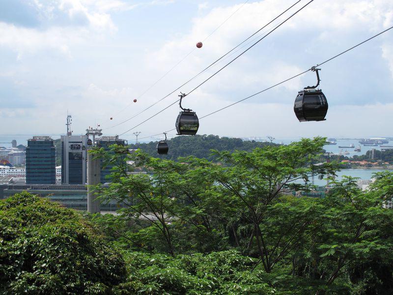 一度は乗りたい!シンガポールのケーブルカーでセントーサ島へ!