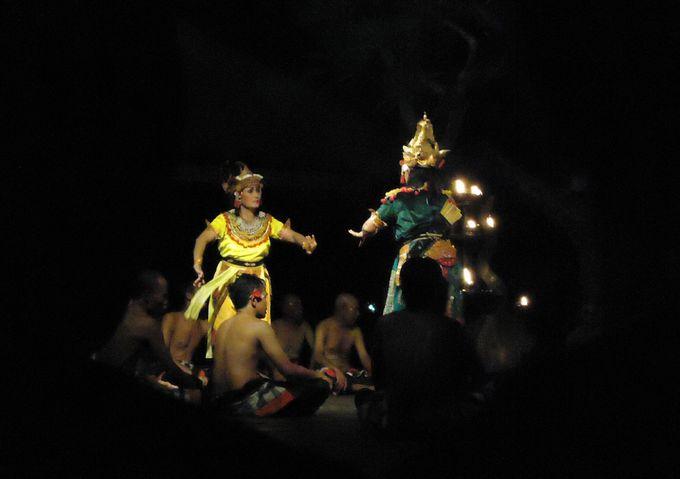 バリ伝統舞踊観賞