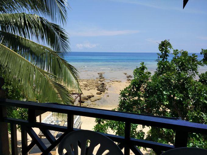 部屋から眺めるビーチが最高!
