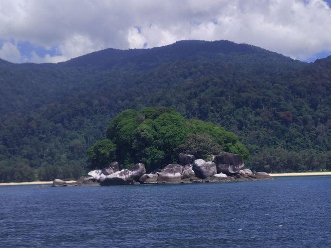 まずは珊瑚礁だらけの海が待つリンギス島へ!