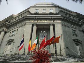 宿泊なしでも楽しめる!元シンガポール中央郵便局のフラトンホテル