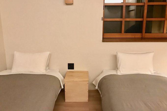 お食事後はお部屋へ!心地よい眠りを…