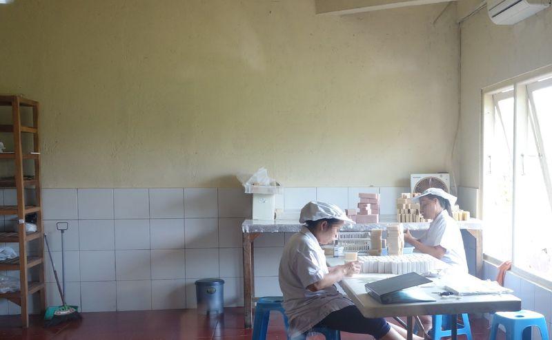3、BURAT WANGIの手作り石鹸
