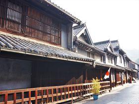 広島県竹原市 江戸時代の町並みと格子が美しい「たけはら町並み保存地区」