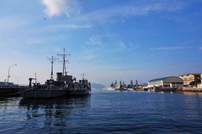 軍艦で栄えた港町「呉」のおすすめ散策スポット
